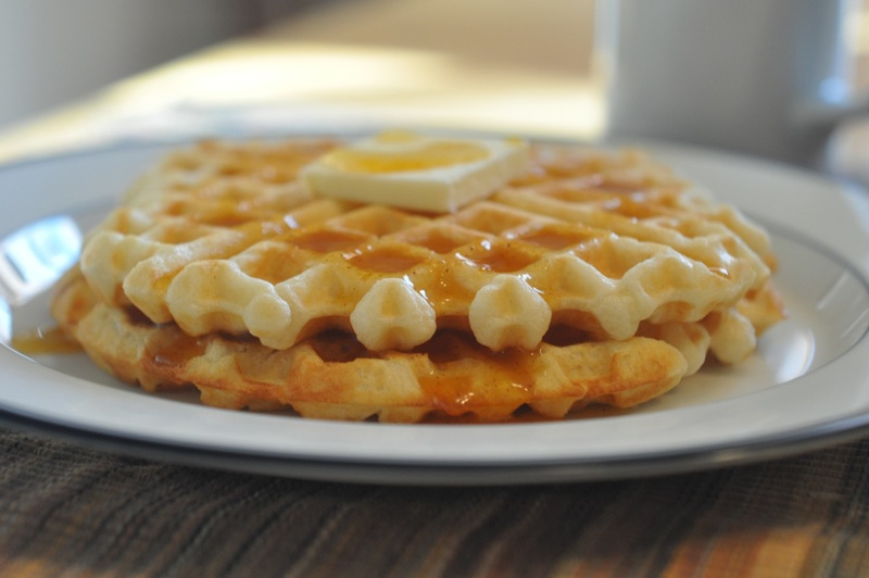 The Best Waffles Ever. | Foods of Our Lives