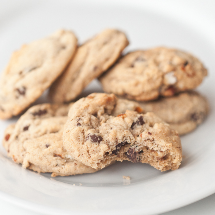 Whole Wheat Chocolate Chip Cookies | Foods of Our Lives