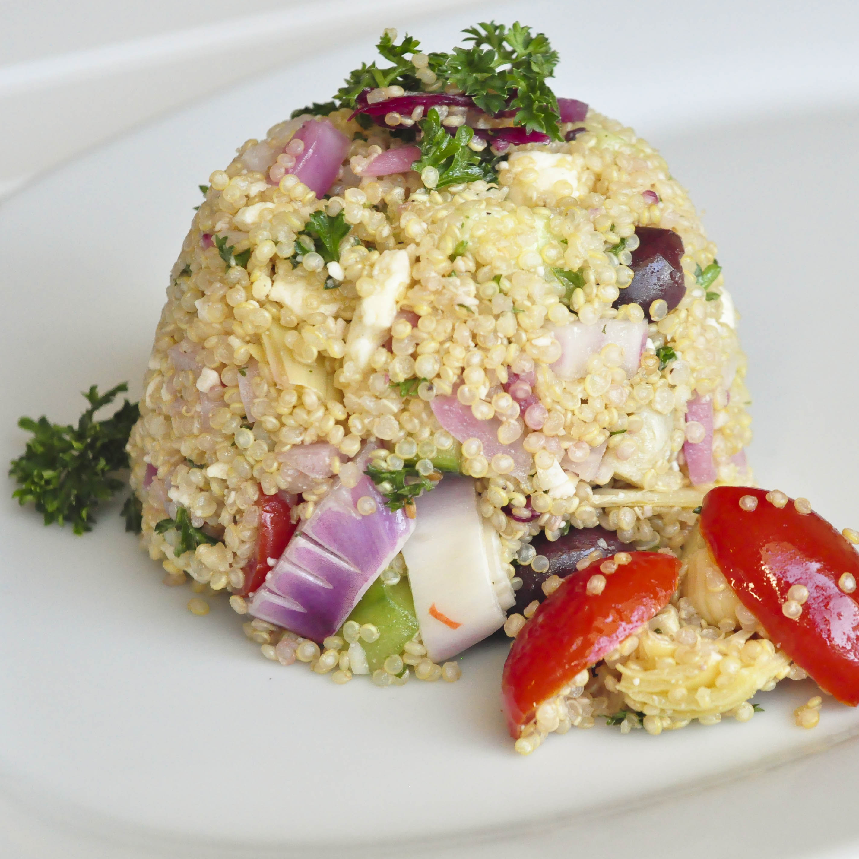 Greek Quinoa Salad | Foods of Our Lives