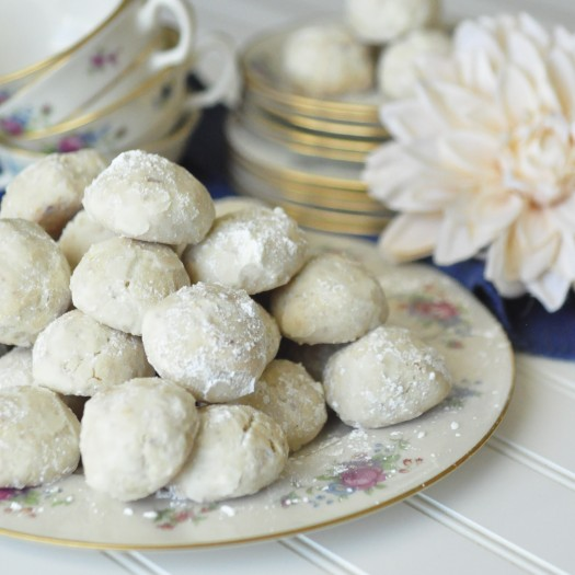 Also known as Russian Tea Cakes or Snowballs, I am not really sure ...