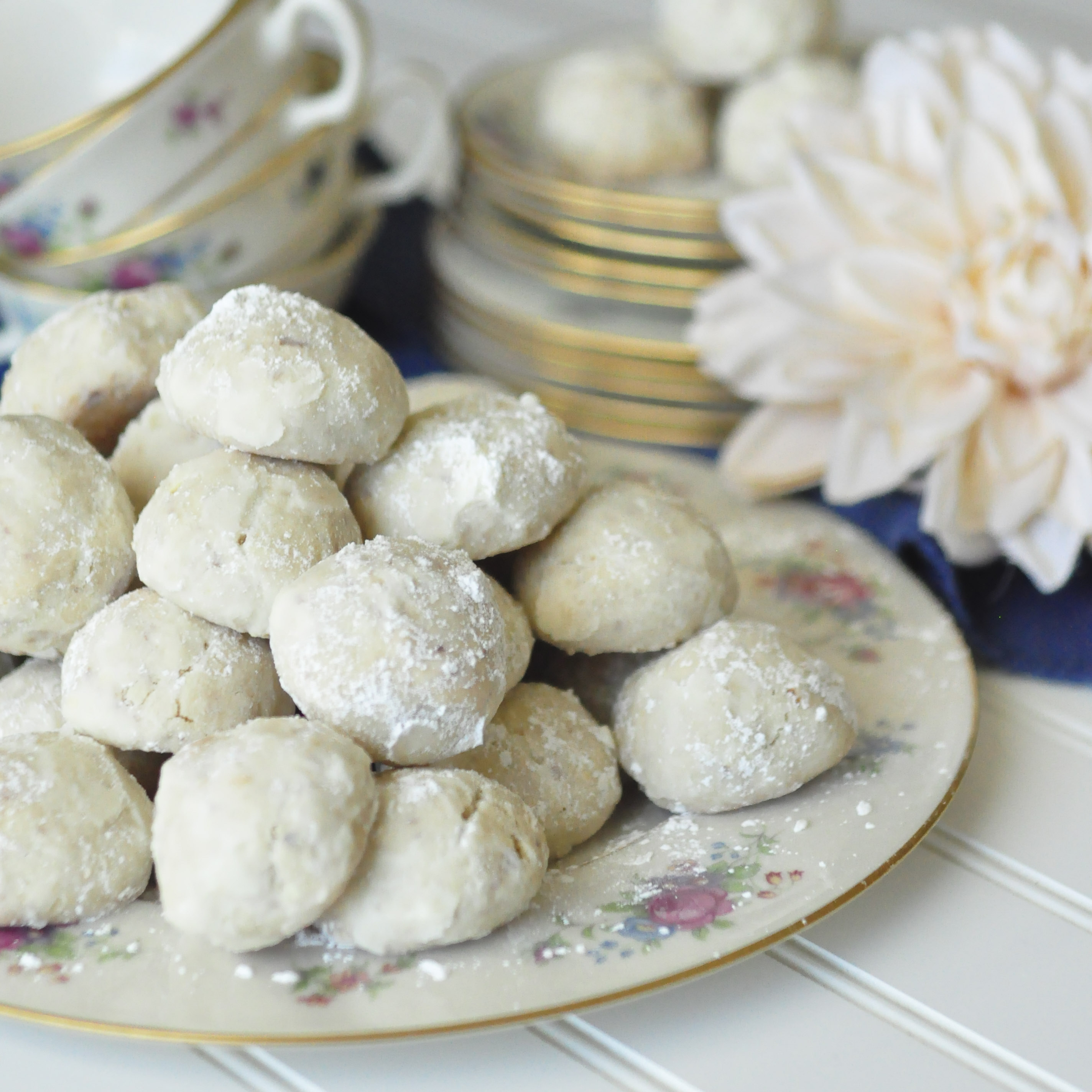 Italian Wedding Cookies Russian Tea Cakes