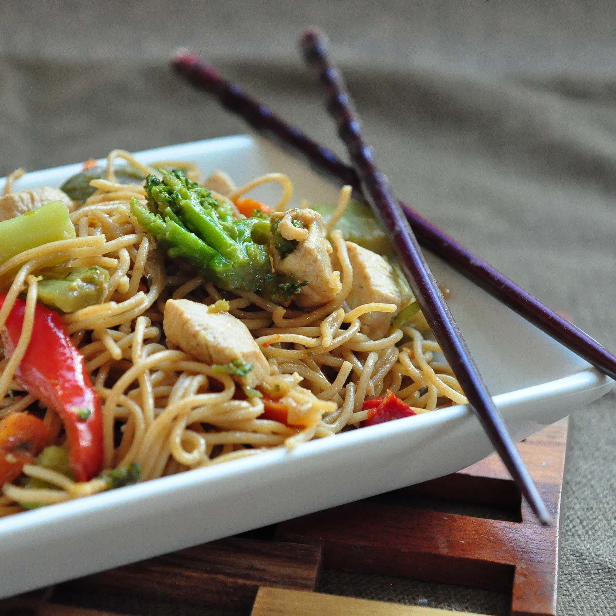 Chinisse Food: Homemade Chicken Lo Mein
