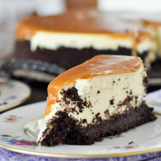 Irish Cream Caramel Cheesecake | Foods of Our Lives