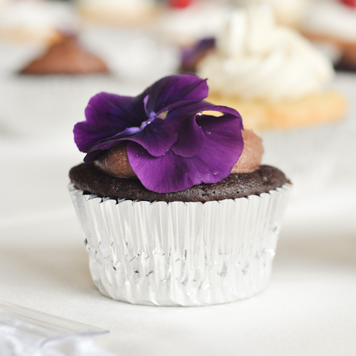 Deep, Dark Chocolate Cupcakes