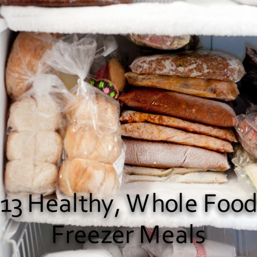 healthy whole foods freezer meals