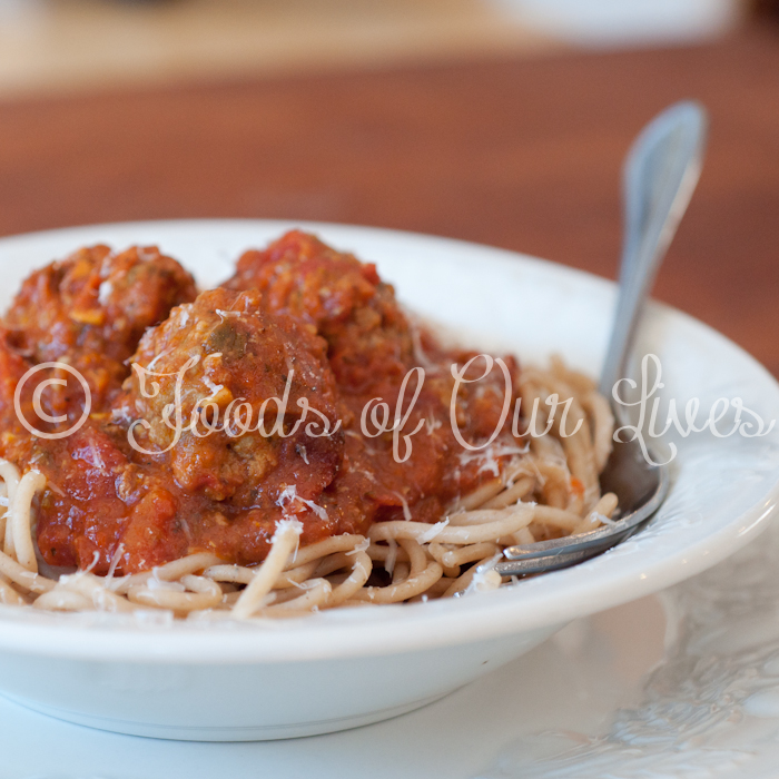 Italian Meatballs and Spaghetti | Foods of Our Lives