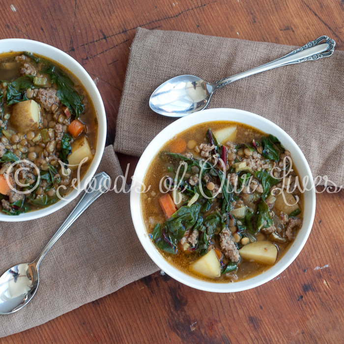 potato slow chard lentil and potato slow a hearty vegetable soup full ...