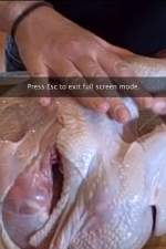 how to cut a chicken