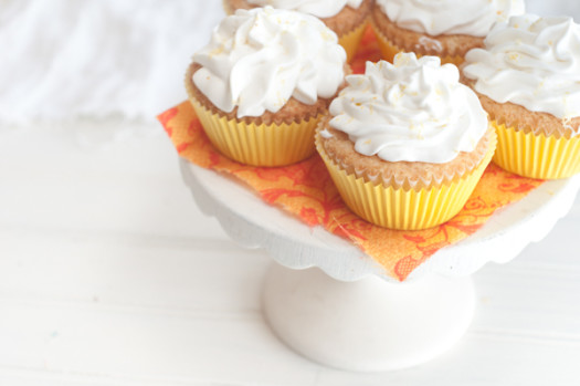 Lemon Cupcakes With Lemon Whipped Cream Frosting Recipes — Dishmaps